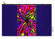Iphone Cases Colorful Floral Abstract Designs Cell And Mobile Phone Covers Carole Spandau Art 159 Carry-all Pouch