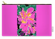 Iphone Cases Colorful Flowers Abstract Roses Gardenias Tiger Lily Florals Carole Spandau Cbs Art 183 Carry-all Pouch by Carole Spandau