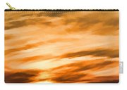 Iphone Sunset Digital Paint Carry-all Pouch