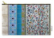 Iran Shiraz Tile And Fountain Carry-all Pouch