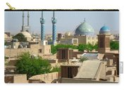Iran Yazd From The Rooftops  Carry-all Pouch