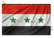 Iraq Flag Carry-all Pouch by Les Cunliffe