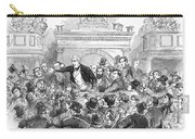 Ireland Election, 1857 Carry-all Pouch
