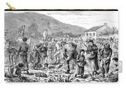 Ireland Peasants, 1886 Carry-all Pouch