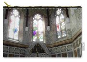 Ireland St. Brendan's Cathedral Stained Glass Carry-all Pouch