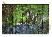 Ireland Stone Wall And Trees Carry-all Pouch