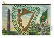 Irelands Historical Emblems Carry-all Pouch