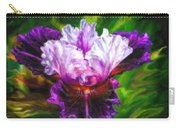 Iridescent Iris Carry-all Pouch