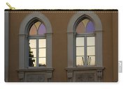Iridescent Pastels At Sunset - Syracuse Arched Windows Carry-all Pouch