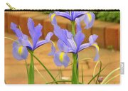 Iris Along The Walk Carry-all Pouch
