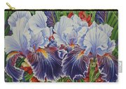 Iris Blooms Carry-all Pouch