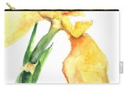 Iris Blooms  Carry-all Pouch by Sherry Harradence