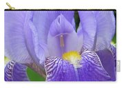 Iris Close Up 1 Carry-all Pouch