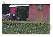 Iris Field And Barn Carry-all Pouch