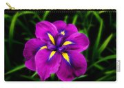 Iris Flower Carry-all Pouch