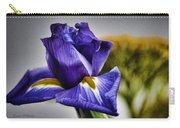 Iris Flower Macro Carry-all Pouch