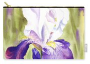 Iris Flower Purple Dance Carry-all Pouch