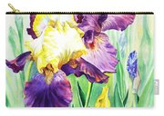 Iris Flowers Garden Carry-all Pouch