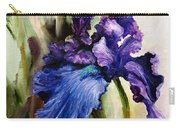 Iris In Bloom 2 Carry-all Pouch