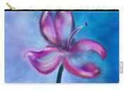 Iris In Pastel Carry-all Pouch
