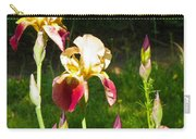Iris In The Sun Carry-all Pouch