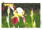 Iris In Watercolor Carry-all Pouch
