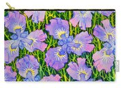 Iris Patterns Carry-all Pouch