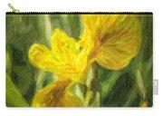 Iris Pseudacorus Yellow Flag Iris Carry-all Pouch