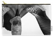 Iris Textures In Black And White Carry-all Pouch