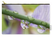 Iris Versicolor Reflection Carry-all Pouch
