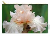 Iris With Dewdrops Carry-all Pouch