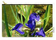 Iris With Frog Carry-all Pouch