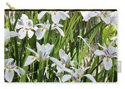 Irises Dancing In The Sun Painted Carry-all Pouch