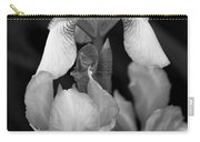 Irises In Black And White Carry-all Pouch