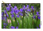 Irises In Spring Carry-all Pouch