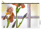 Irises In The Window Carry-all Pouch