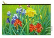 Irises On The West Lawn 1 Carry-all Pouch