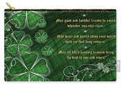 Irish Blessing Carry-all Pouch