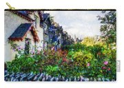 Irish Garden Water Color Carry-all Pouch