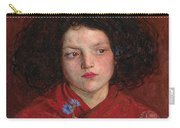Irish Girl Carry-all Pouch by Philip Ralley
