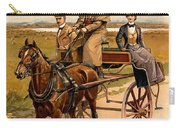 Irish Jaunting Car Carry-all Pouch