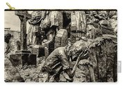 Irish Memorial In Sepia - Philadelphia Carry-all Pouch