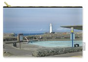 Irish Sea Lighthouse On Pier Carry-all Pouch