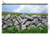 Irish Stone Wall Carry-all Pouch
