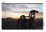 Iron Horse Keeping Watch Carry-all Pouch