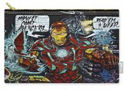 Iron Man Graffiti Carry-all Pouch