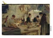 Ironing Workshop In Trouville Carry-all Pouch by Louis Joseph Anthonissen