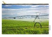 Irrigation On Saskatchewan Farm Carry-all Pouch by Elena Elisseeva