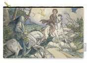 Irving: Sleepy Hollow, 1849 Carry-all Pouch
