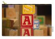 Isaac - Alphabet Blocks Carry-all Pouch